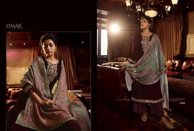 Glossy Simar Velvet 1530-1537 series Suits