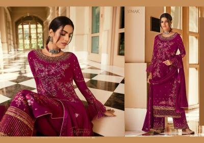 Glossy Simar Zaina 522-526 Series Suits