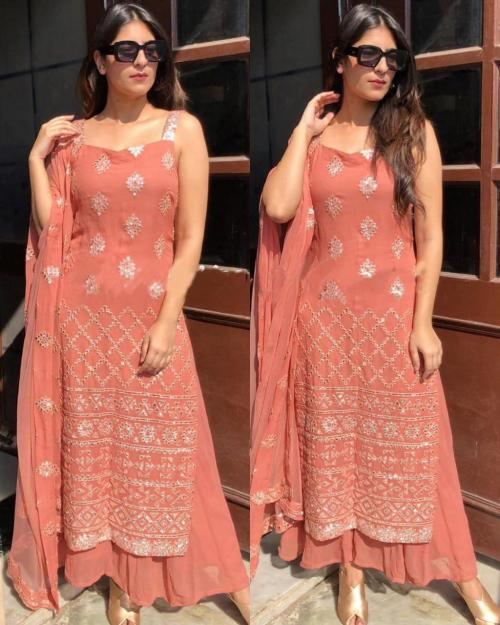 Pink Peach Suit AD 943