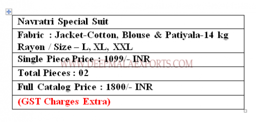 AGF Navratri Special Collection Price