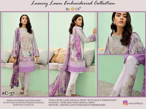 CS Luxury Lawn Collection C-37