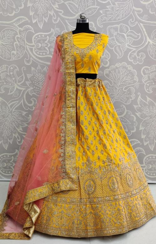 Yellow Choli FG 6009