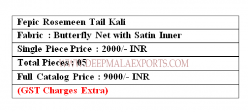 Fepic Rosemeen Tail Kali Price