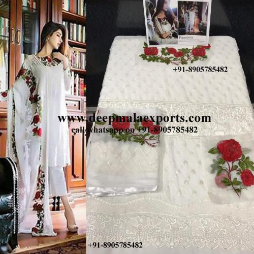 White Suit Gul Ahmed