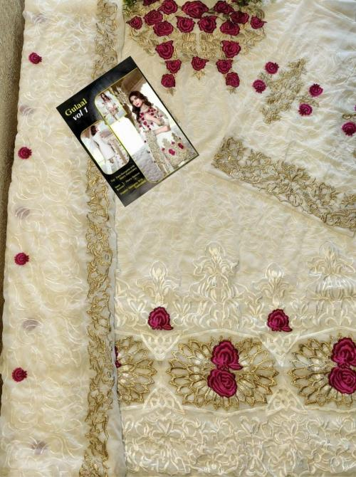 Gulal White Suit