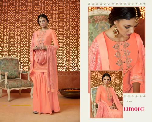 Kimora Fashion Kimora vol1 K001-K007 Silk Plazzo Salwar Suit