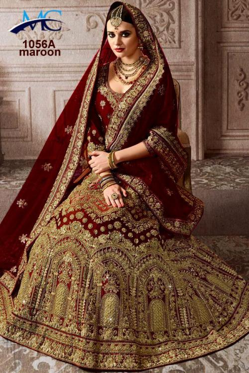 MC 1056 Colors Silk Wedding Lehenga Choli