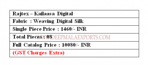 Rajtex Kailasaa Digital Price