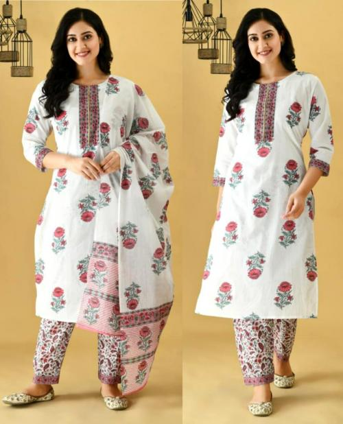 Roseate Collection White A