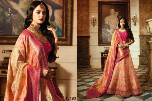 Royal Virasat vol 17 13190-13200 Designer Bridal Lehenga