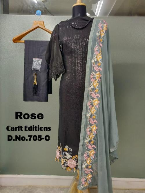 Shanaya Fashion Rose Craft Edition 705 C.1