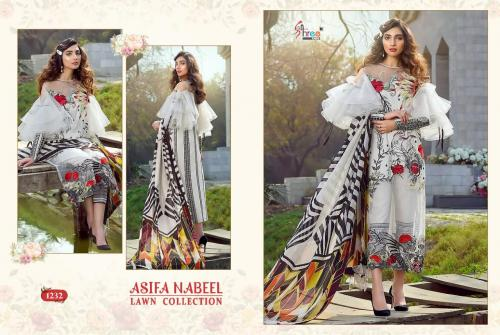 Shree Fabs Asifa Nabeel Lawn Collection 1232
