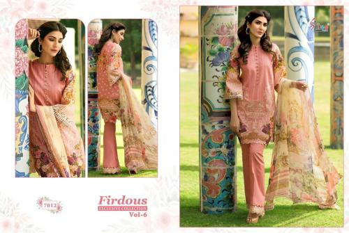 Shree Fabs Firdous 7012