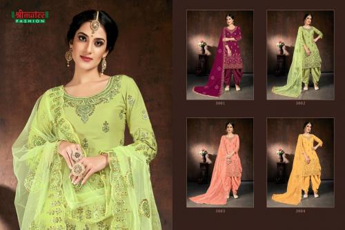 Shreematee Fashion Bebo vol3 3001-3004