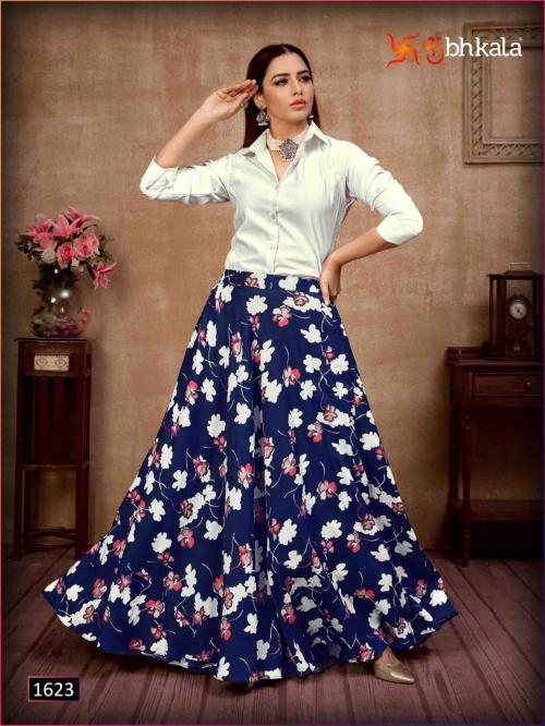 Khushboo Frill & Flare 1623
