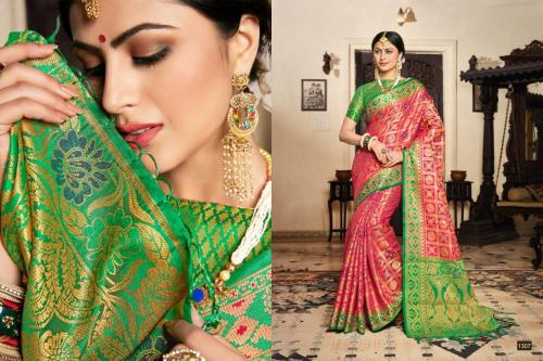 Style Instant Bridal Silk 1307-1312 series Partywear Saree