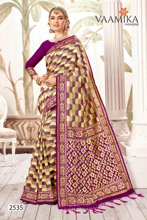 Vaamika Fashion Kanjivaram Silk 2535