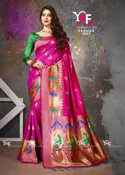 Yadu Nandan Fashions Hit Designs Silk Saree
